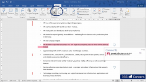 The Review Tab and the View Tab in Microsoft Word (EN)