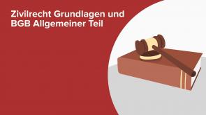 Zivilrecht Grundlagen und BGB Allgemeiner Teil
