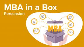 MBA: Persuasion