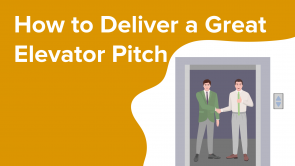 How to Deliver a Great Elevator Pitch (EN)