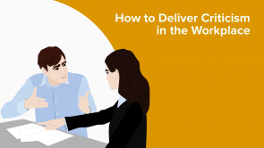 How to Deliver Criticism in the Workplace (EN)
