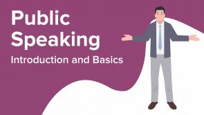 Public Speaking: Introduction and Basics (EN)