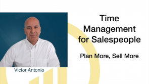 Time Management for Sales People (EN)