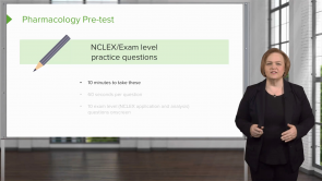 NCLEX Pharmacology Review (Nursing)