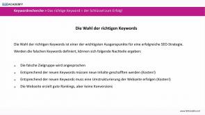 Keywordrecherche: Die passenden Keywords finden