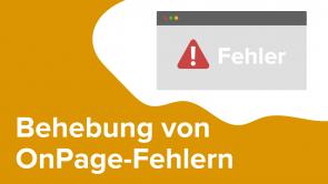 Behebung von OnPage-Fehlern