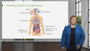 Diabetes Type 1 and 2: Complications and Symptoms (Nursing)