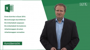 Microsoft Excel 2016 für Anfänger