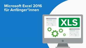 Microsoft Excel 2016 für Anfänger*innen