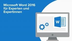 Microsoft Word 2016 für Experten und Expertinnen