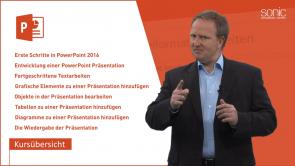 Microsoft PowerPoint 2016 für Anfänger