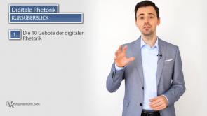 Die 10 Gebote der digitalen Rhetorik