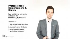 Professionelle Körpersprache & Stimme im Bewerbungsgespräch
