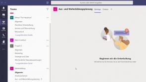 Microsoft Teams: Vertiefung