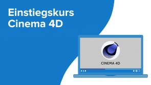 Einstiegskurs Cinema 4D