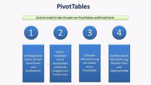Excel Tutorial: die Pivot Tabelle