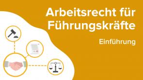 Arbeitsrecht für Führungskräfte: Einführung