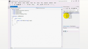 C # Visual Studio 2012