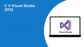 C # Visual Studio 2012