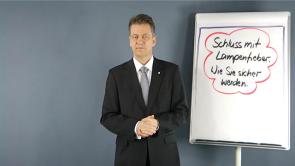 Schluss mit Lampenfieber - Wie Sie sicher werden