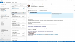 Outlook 2019 und 365: Besprechungsplanung und Ordnerfreigabe