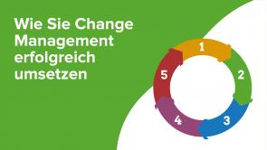 Wie Sie Change Management erfolgreich umsetzen