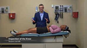Examination of the Lower Extremities
