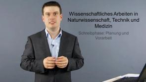 Wissenschaftliche Arbeit in Naturwissenschaft, Technik und Medizin