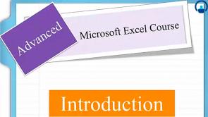 Microsoft Excel 2010 - Advanced