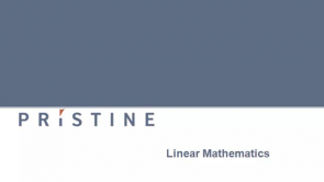 Linear Mathematics and Matrix Algebra