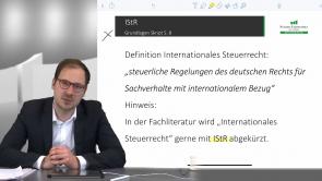 Internationales Steuerrecht (IStR)