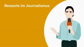 Ressorts im Journalismus