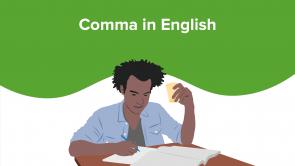 Comma in English