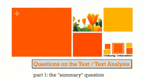 Text Analysis in English