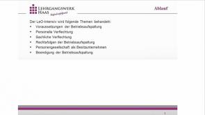 1. Betriebsaufspaltung (2013 / 2014)