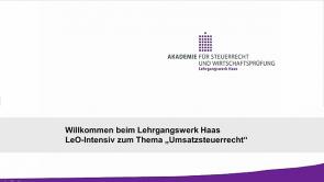1. Grundstücke und steuerfreie Vermietung (2013 / 2014)