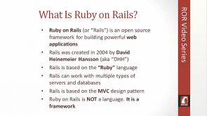 Ruby on Rails Environment
