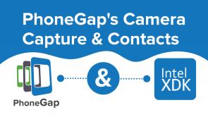 PhoneGap's Camera Capture & Contacts