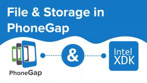 File & Storage in PhoneGap