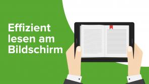 Improved Reading – effizient lesen am Bildschirm
