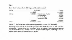 7. Kapitalerhöhung und Kapitalherabsetzung (2013 / 2014)
