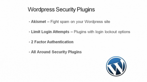 WordPress Security Tutorial