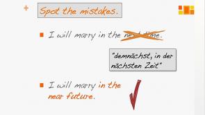 False Friends - typisch deutsche Englischfehler