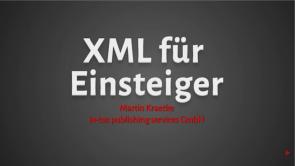 XML - Das umfassende Tutorial