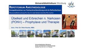 Anästhesiologie Repetitorium