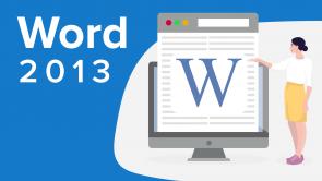 Microsoft Word 2013 (EN)