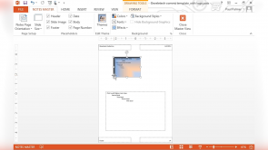 Customizing Design Templates in PowerPoint 2013