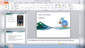 The Basics of PowerPoint 2010