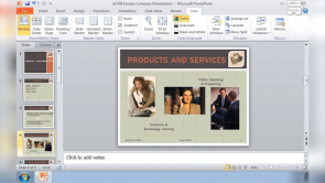 Place and Align Objects in PowerPoint 2010