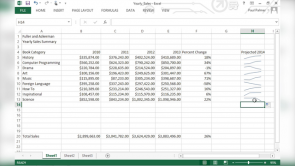 Analyzing and Presenting Data in Excel 2013